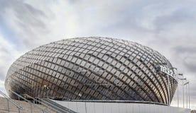 SZTOKHOLM, OCT -, 29: Tele2 arena, jest purpose salowym stado Zdjęcie Stock