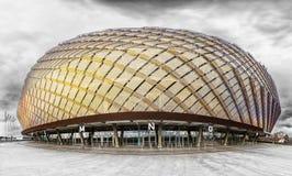 SZTOKHOLM, OCT -, 30: Tele2 arena, jest purpose salowym stado Zdjęcie Royalty Free