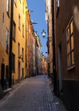 Sztokholm Stary miasteczko (Gamla Stan) Obraz Stock