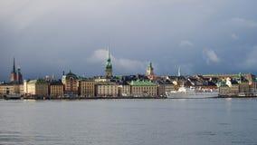 Sztokholm, stary miasteczko, Szwecja Obraz Royalty Free