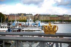 Sztokholm, Szwecja Fotografia Royalty Free