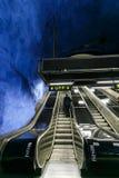 SZTOKHOLM, SZWECJA - 22nd Maj, 2014 Sztokholm podziemna stacja metru T-Centralen - jeden piękna stacja metru, Zdjęcie Stock
