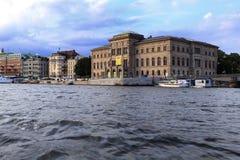Sztokholm Szwecja, Norrmalm, - gromadzki widok od Starej miasteczka ćwiartki Zdjęcia Royalty Free