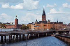 Sztokholm urząd miasta Obraz Royalty Free