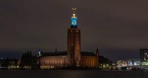 Sztokholm urząd miasta II zdjęcie royalty free