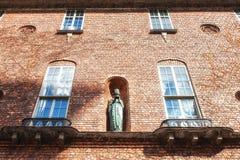 Sztokholm urzędu miasta szczegóły Zdjęcie Stock