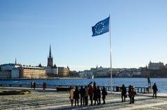 Sztokholm urzędu miasta terrass obrazy stock