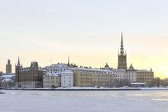 Sztokholm widok Zdjęcia Royalty Free