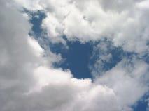 sztorm chmur Fotografia Royalty Free
