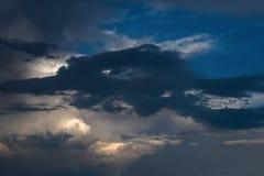sztorm chmur Zdjęcia Stock