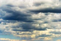 sztorm chmur Fotografia Stock