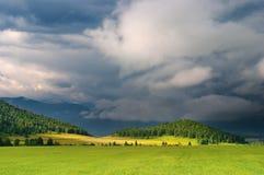 sztorm chmur zdjęcie stock