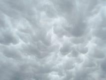 2 sztorm chmur Fotografia Stock