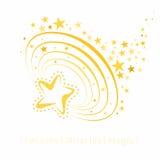 Sztuczki - magii gwiazdy Zdjęcia Royalty Free