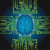 Sztuczna inteligencja. Obrazy Royalty Free