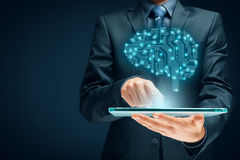 sztuczna inteligencja obraz royalty free