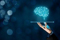 Sztuczna inteligencja AI obraz royalty free