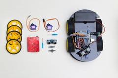 sztuczna inteligencja Elektronika modułu set fotografia stock