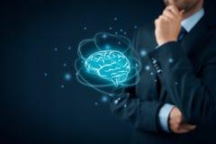 Sztuczna inteligencja i twórczość obrazy stock