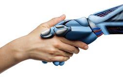 Sztuczna inteligencja, poj?cie przysz?o?? obrazy royalty free