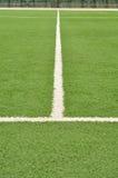 sztuczna śródpolna futbolowa murawa Obraz Stock