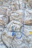 Sztuczna rockowego pięcia ściana Obrazy Stock