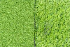 Sztuczna trawy tekstura Obrazy Royalty Free
