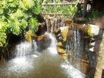 sztuczna wodospadu Obraz Royalty Free