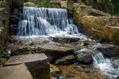 sztuczna wodospadu Zdjęcie Royalty Free