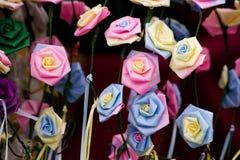 sztuczne kwiaty Fotografia Royalty Free