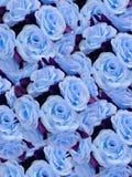sztuczne kwiaty blues Fotografia Stock