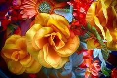 sztuczne kwiaty kolor Obrazy Stock