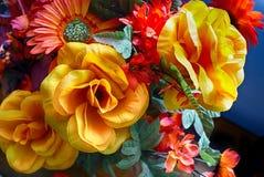sztuczne kwiaty kolor Zdjęcie Royalty Free