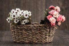 sztuczne kwiaty kolor Zdjęcia Stock