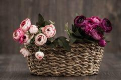 sztuczne kwiaty kolor Zdjęcie Stock