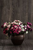 sztuczne kwiaty kolor Zdjęcia Royalty Free