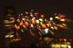 sztuczne ognie Lipowie 4 Fotografia Royalty Free