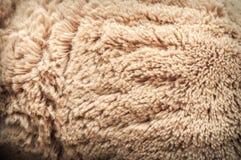 Sztucznego futerka tekstury Zdjęcia Royalty Free