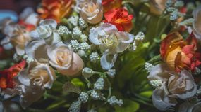 Sztucznego kwiatu bukiet Fotografia Stock
