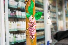 sztucznego kwiatu menchie Fotografia Stock