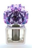 sztucznego tła kwiatu odosobniony biel Zdjęcie Royalty Free