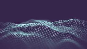 Sztucznej inteligenci automatyzaci technologii tło zwiększający rzeczywistość projekt obraz royalty free