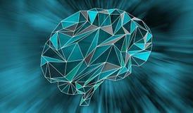 Sztucznej inteligenci i sieci pojęcie ilustracji