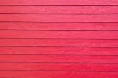 Sztuczni czerwoni drewniani tła Zdjęcie Royalty Free