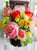 Sztuczni kwiaty Zdjęcia Royalty Free