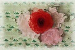 Sztuczni kwiaty Zdjęcie Stock
