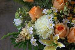 Sztuczni kwiaty Fotografia Royalty Free