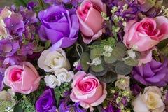 Sztuczni kwiaty Obrazy Royalty Free