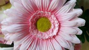 Sztuczni kwiaty od tkaniny pompy środkowa część kwiat dla tło pracy, Fotografia Stock