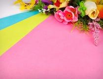 sztuczni przygotowania kwiaty Fotografia Royalty Free